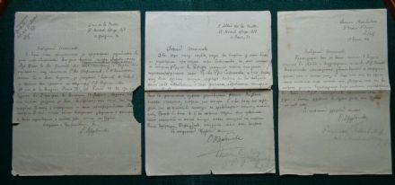 Antique Signed Letter Princess Scherbatoff Imperial Russia Countess Stroganoff